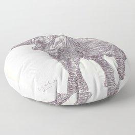 BALLPEN ELEPHANT 6 Floor Pillow