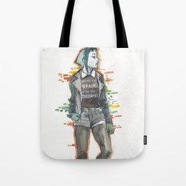 Punk Hera Tote Bag