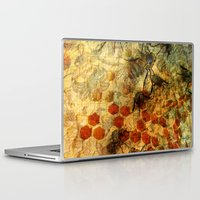 bees Laptop & iPad Skins featuring Bees by See No Evil