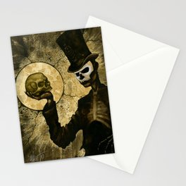 Shadow Man Stationery Cards