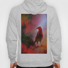 The clearing of king crow   ( collaboration with the talented artist Agostino Lo coco) Hoody