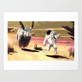 Provenlands - Chase Art Print