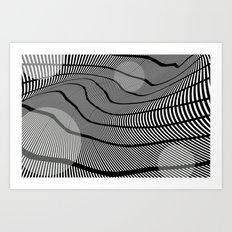 Mid-Century Mod 2 Art Print