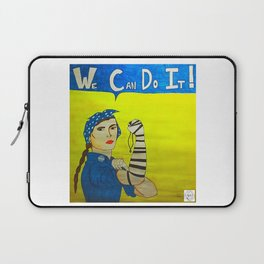 Jewish Rosie the Riveter Laptop Sleeve