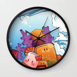 Art Water Wall Clock
