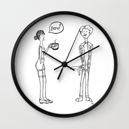 Riendo Salads in Need for Speed Wall Clock