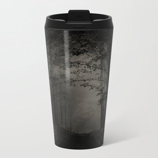 SEARCHING FOR THE LIGHT Metal Travel Mug