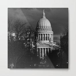 WI State Capitol - Nov 2020 Metal Print