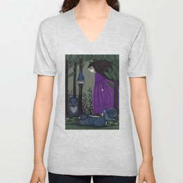 There is a Place in the Woods... Unisex V-Neck