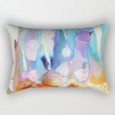 Dame plume Rectangular Pillow