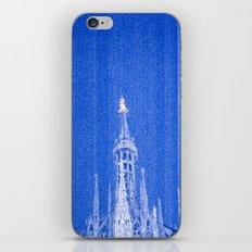 Night of Blue over Milan iPhone & iPod Skin