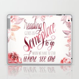 READING GIVES US Laptop & iPad Skin