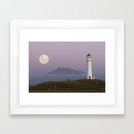 Cape Egmont Framed Art Print
