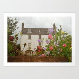Scotland Cottage Art Print