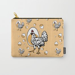 Retro Roseanne Chickens Carry-All Pouch