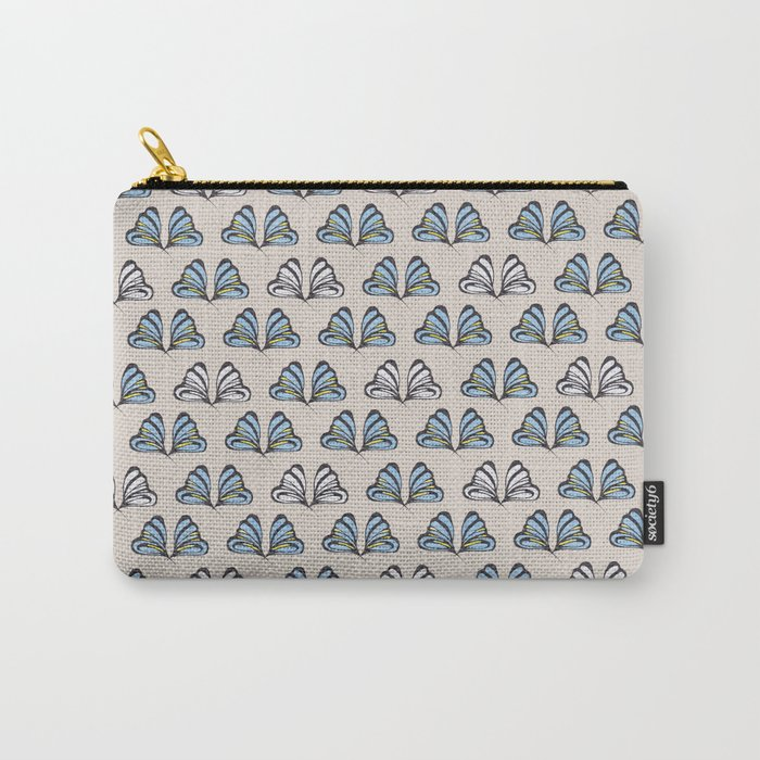 Madam Butterfly Print Carry-All Pouch