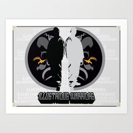 Illustrious Warriors Art Print