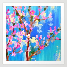 Rustic Blossom Art Print