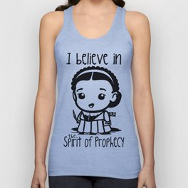 I believe in the Spirit of Prophecy Unisex Tank Top
