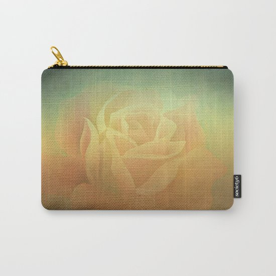 Evening Rose Shadows Carry-All Pouch