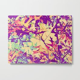 Autumn Hippy- Style Metal Print