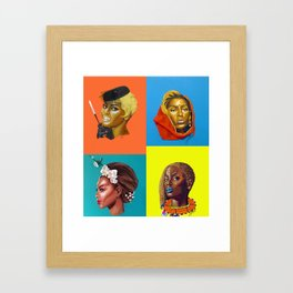 bey:INTERNATONAL Framed Art Print