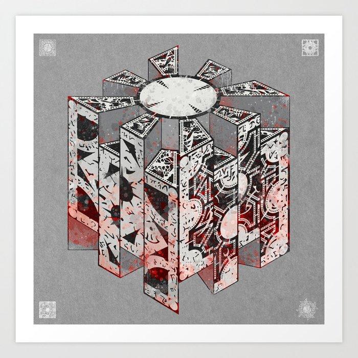 Hellraiser Puzzlebox D Kunstdrucke