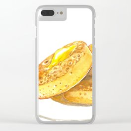 Crumpets Clear iPhone Case
