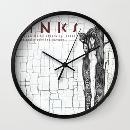 CARBON DIOXIDE SINKS Wall Clock