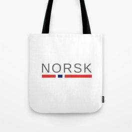 Norsk Norway Tote Bag