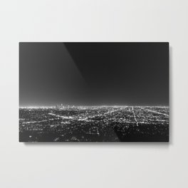 LA Lights Metal Print