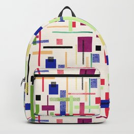 Colorful abstract. Backpack