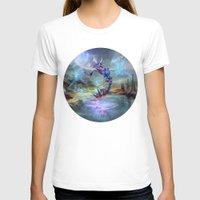 illusion T-shirts featuring Illusion by Veronique Meignaud MTG