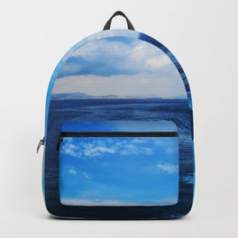 50 shades of Blue i Backpack