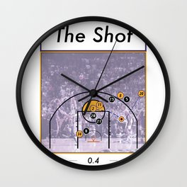 The Shot Series, Derek Fisher Wall Clock