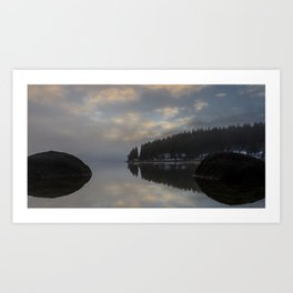 Black Forest Reflections - Landscape Photography Art Print