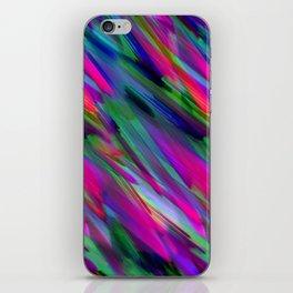 Colorful digital art splashing G400 iPhone Skin