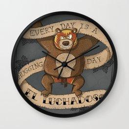 EL LUCHADOSO Wall Clock
