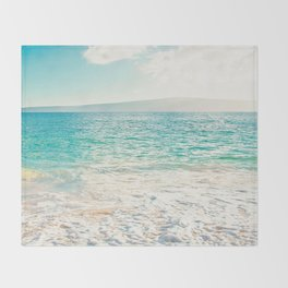 Big Beach Throw Blanket