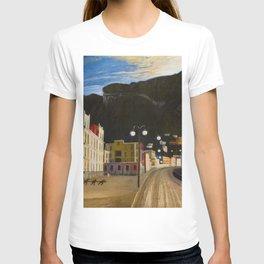 Castellammare di Stabia, Bay of Naples, Italy panoramic portrait by Csontváry Kosztka Tivadar T-shirt