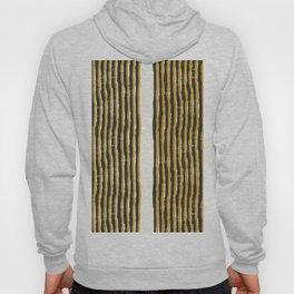 Zen Stripe Block Print Mustard Hoody