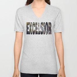 Excelsior - The Raven Cycle Unisex V-Neck