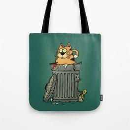 Stray cat Tote Bag