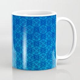 D20 Celestial Crit Pattern Premium Coffee Mug