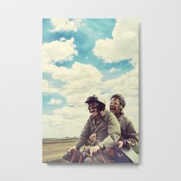 Dumb and Dumber,jim carrey,movie poster,Best Buds  Metal Print