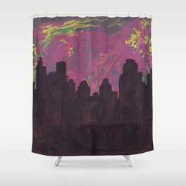 City17 Shower Curtain