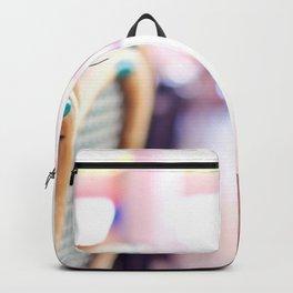Pink in Paris 01 Backpack
