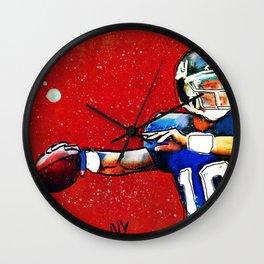 NY Giants' Eli Manning Wall Clock