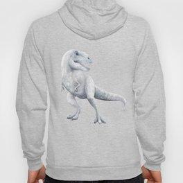 Trex Dinosaur Watercolor Hoody