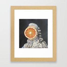 Orange Louis XVI Framed Art Print